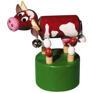 MF kráva s rolničkou