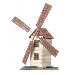 15 Větrný mlýn