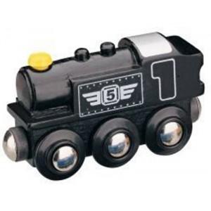 Parní lokomotiva - černá, Maxim 50816