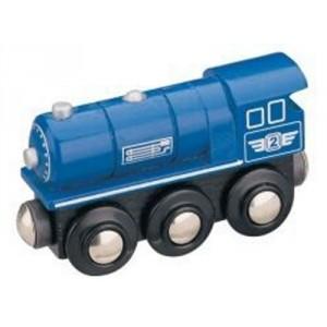 Parní lokomotiva - modrá, Maxim 50813