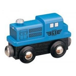 Dieselová lokomotiva - modrá, Maxim 50812