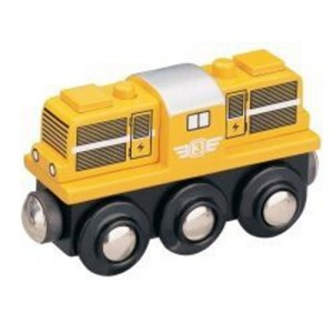 Dieselová lokomotiva - žlutá, Maxim 50814