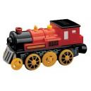 Elektrická lokomotiva černá