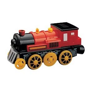 Elektrická lokomotiva - červená