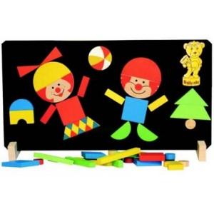 Magnetické puzzle klauni