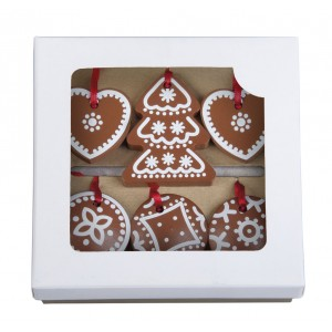 Vánoční perníčky v krabičce
