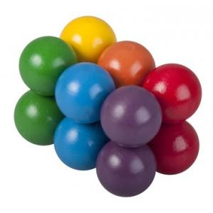 Hlavolam barevné kuličky