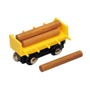 Vagón se dřevem