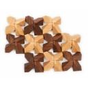 Skládačka dřevěné kameny - 40 dílů