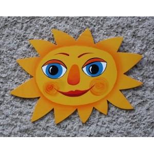 Sluníčko s očima