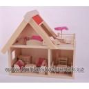 Domek pro panenky s nábytkem