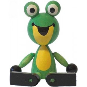 Žabka sedící