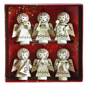 Vánoční ozdoby andělíčci